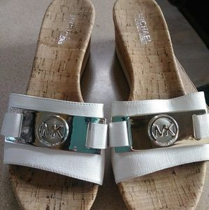 Michael Kors warren platform slide sandals
